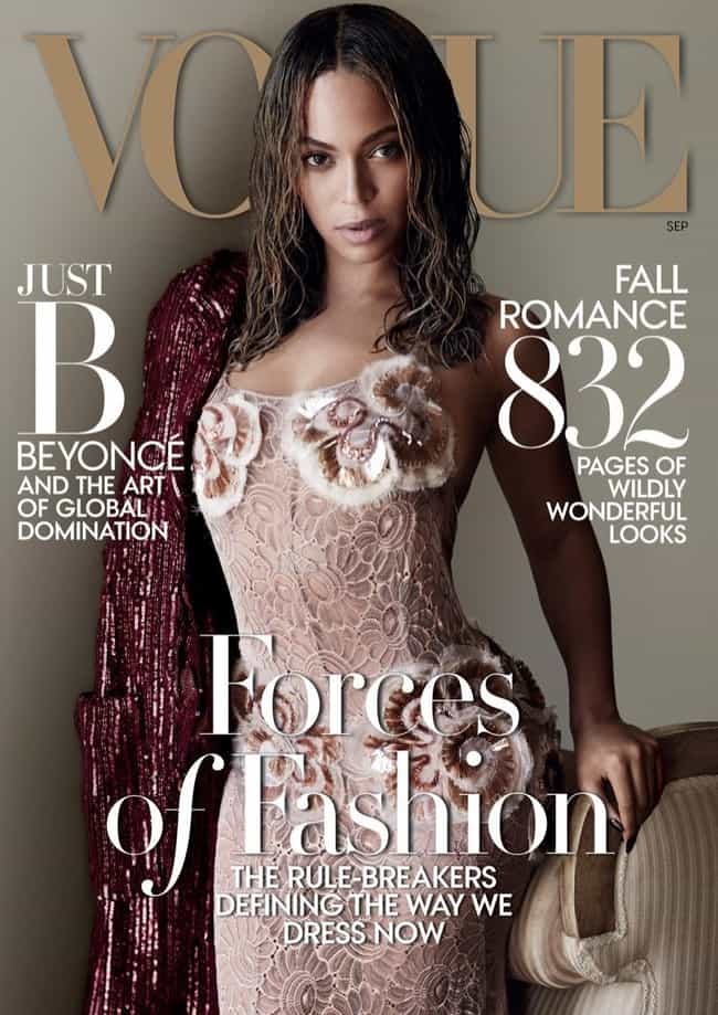 Beyonce in her wet hair look f... is listed (or ranked) 1 on the list The Most Beautiful Beyonce Pictures