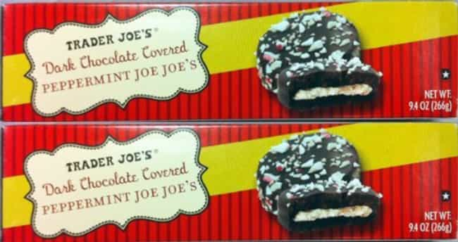 Trader Joe's Dark Chocol... is listed (or ranked) 4 on the list Limited Edition Holiday Snacks You Should Try This Season