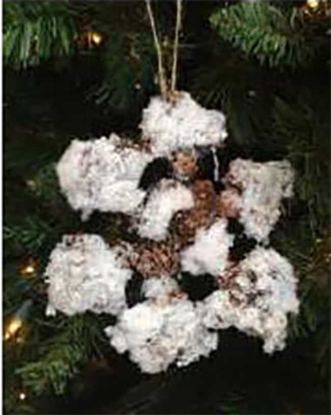 The Rarely Seen Trash Sn... is listed (or ranked) 3 on the list The Worst Homemade Christmas Ornaments