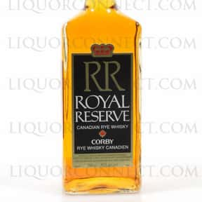 Corby Royal Reserve is listed (or ranked) 24 on the list The Best Canadian Whiskey Brands