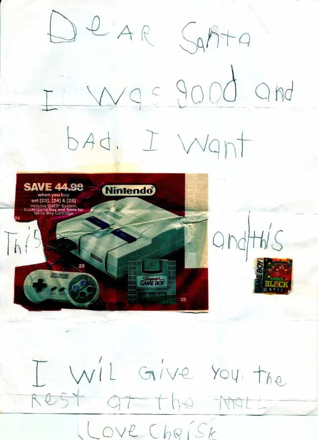 The Super Nintendo: the ... is listed (or ranked) 3 on the list 30 Kids Who Know Exactly What They Want for Christmas