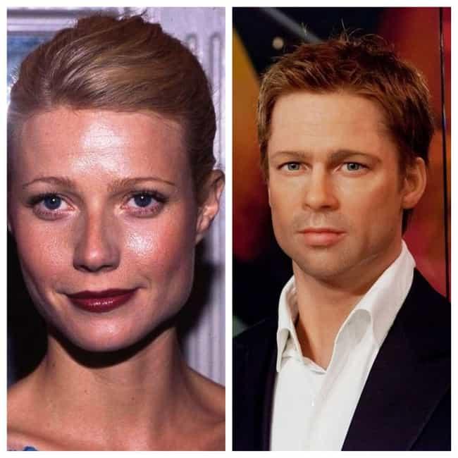 Brad Pitt and Gwyneth Paltrow is listed (or ranked) 2 on the list 24 Couples You Forgot Were Engaged