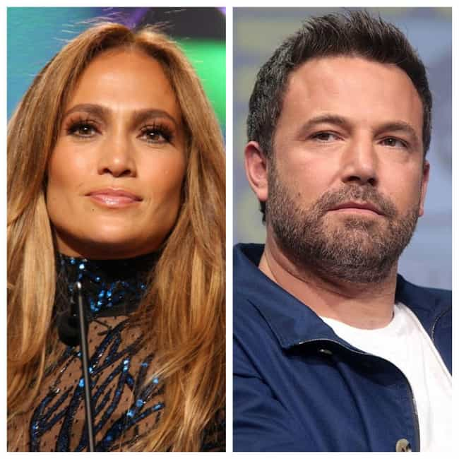 Jennifer Lopez and Ben Affleck is listed (or ranked) 3 on the list 24 Couples You Forgot Were Engaged