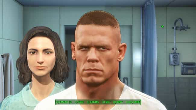 You'll Be Down for the Count A... is listed (or ranked) 3 on the list The Most Uncanny Fallout 4 Face Editor Lookalikes