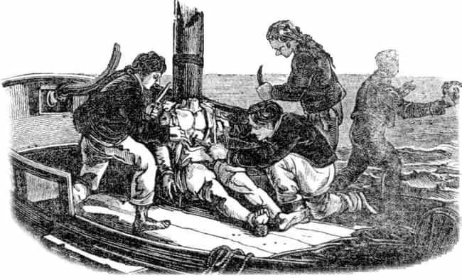 The Crew of the Whale Ship Ess... is listed (or ranked) 2 on the list 14 Creepy American Cannibals Who Ate Their Victims