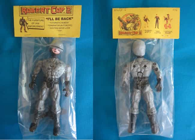 Robert Cop - Half Robert, Half... is listed (or ranked) 4 on the list 47 Hilarious Knock-Off Toys That Just Aren't Quite Right