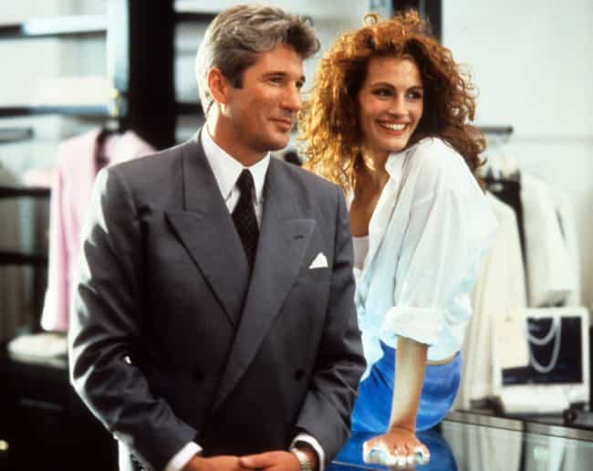 Richard Gere & Julia Rober... is listed (or ranked) 3 on the list Actors Who Have Played Onscreen Couples Multiple Times
