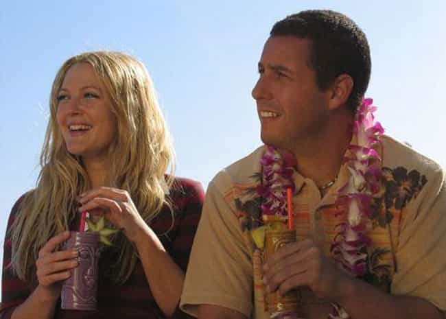 Adam Sandler & Drew Barrym... is listed (or ranked) 1 on the list Actors Who Have Played Onscreen Couples Multiple Times