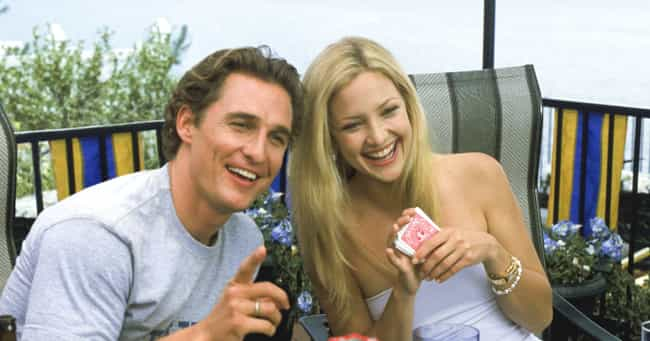 Matthew McConaughey &... is listed (or ranked) 2 on the list Actors Who Have Played Onscreen Couples Multiple Times