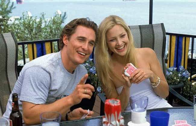 Matthew McConaughey & Kate... is listed (or ranked) 2 on the list Actors Who Have Played Onscreen Couples Multiple Times