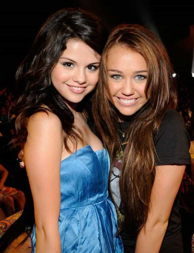Miley Cyrus & Selena... is listed (or ranked) 3 on the list Hollywood's Most Famous Pogo Sisters