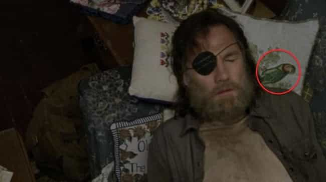 The Governor as a Pirate... is listed (or ranked) 4 on the list Hidden Easter Eggs In 'The Walking Dead'