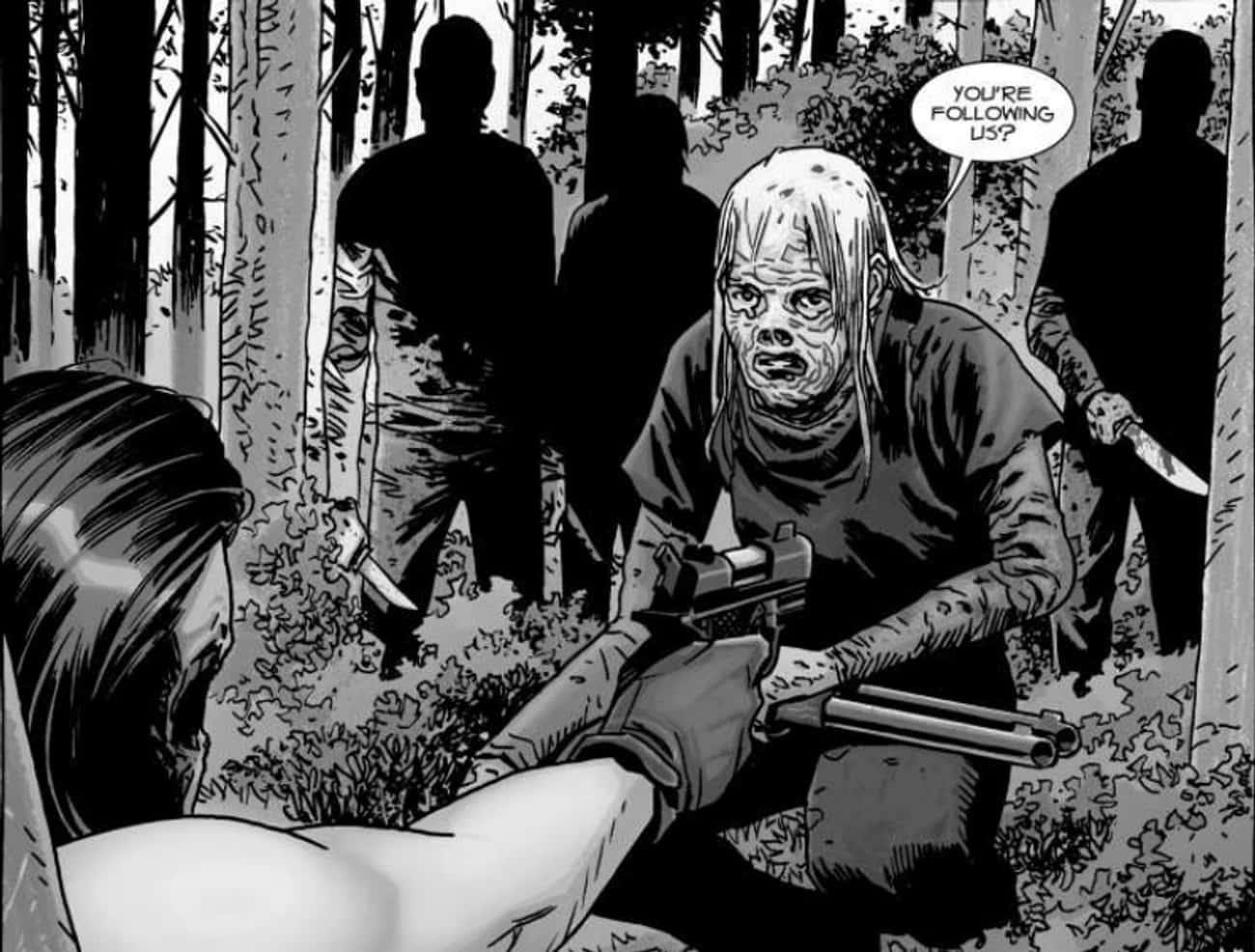 The Whisperers? is listed (or ranked) 3 on the list Hidden Easter Eggs In 'The Walking Dead'