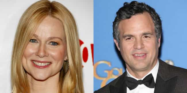 Laura Linney and Mark Ruffalo is listed (or ranked) 4 on the list Onscreen Relatives Who Look the Least Alike