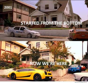 Movin' On Up is listed (or ranked) 2 on the list The Best Fast and Furious Memes Ever Made