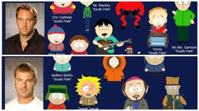 There Are Only Four Main Cast ... is listed (or ranked) 1 on the list 17 Fun Facts About the Voices of South Park