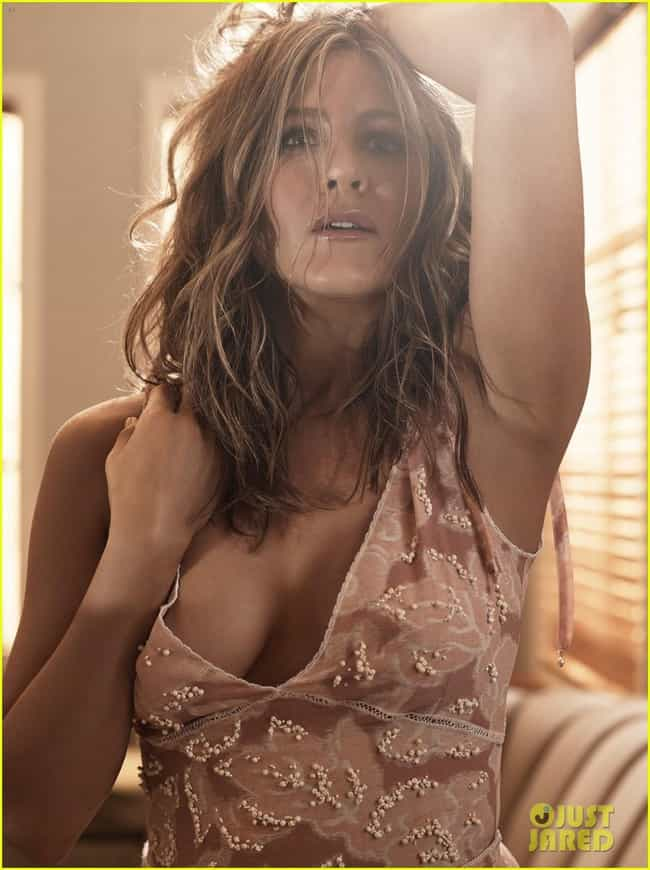 Jennifer Aniston deep cleavage... is listed (or ranked) 4 on the list The Most Beautiful Jennifer Aniston Pictures