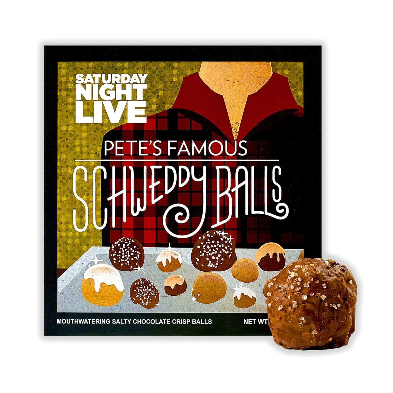 Pete's Schweddy Balls is listed (or ranked) 2 on the list Perfect Gifts for Saturday Night Live Fans