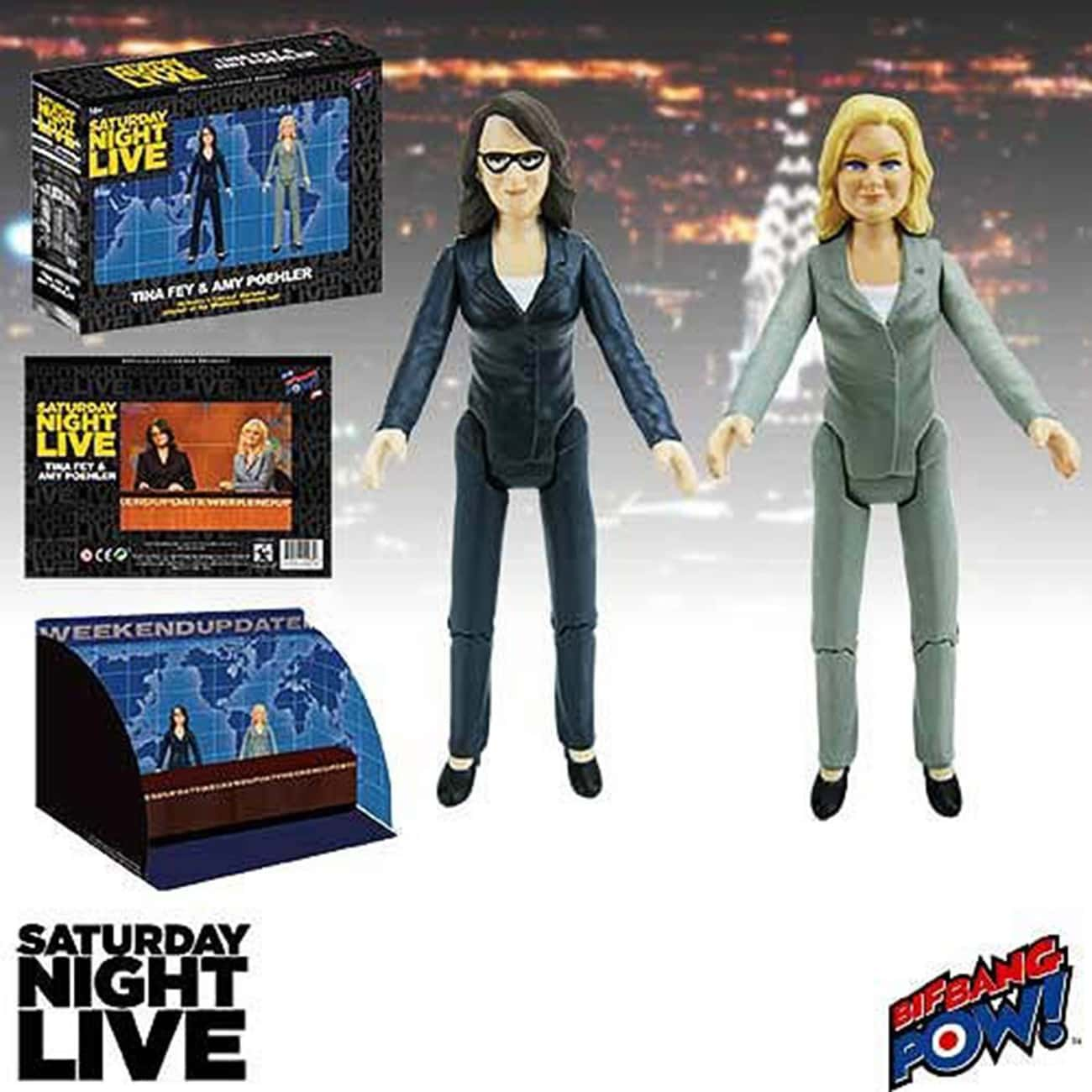 Tina Fey and Amy Poehler Weeke is listed (or ranked) 3 on the list Perfect Gifts for Saturday Night Live Fans
