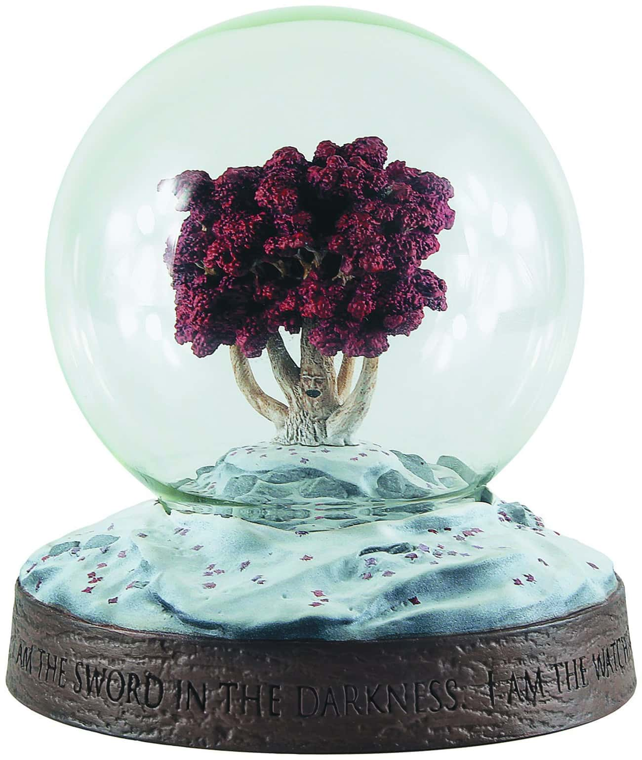 Weirwood Snow Globe is listed (or ranked) 4 on the list Game of Thrones Gifts for the Fan Who Has It All
