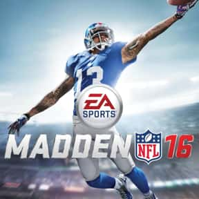 Madden NFL 16 is listed (or ranked) 25 on the list The Best PlayStation 4 Simulation Games