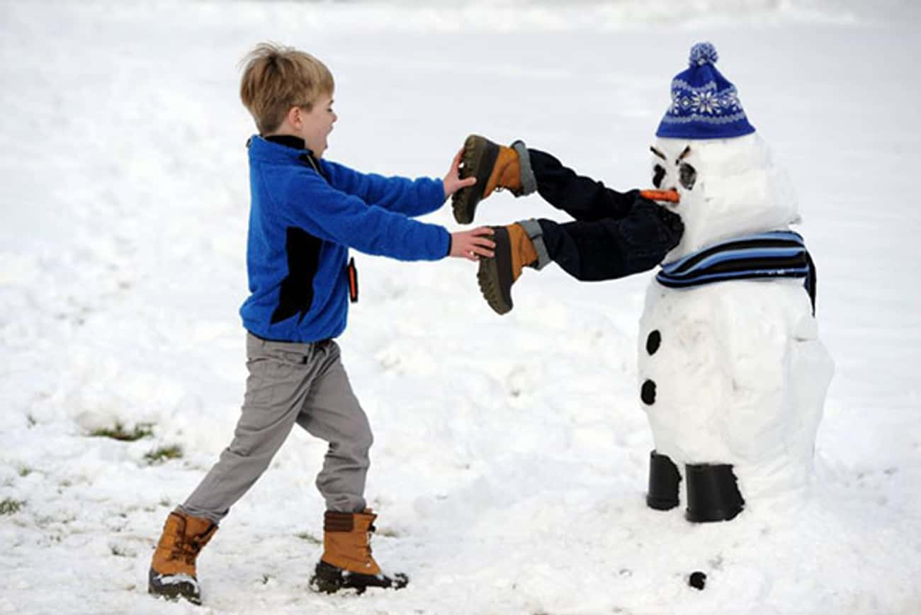 Vigilante Snowman Assures You  is listed (or ranked) 3 on the list 47 Snowmen Who Are Funnier Than Yours