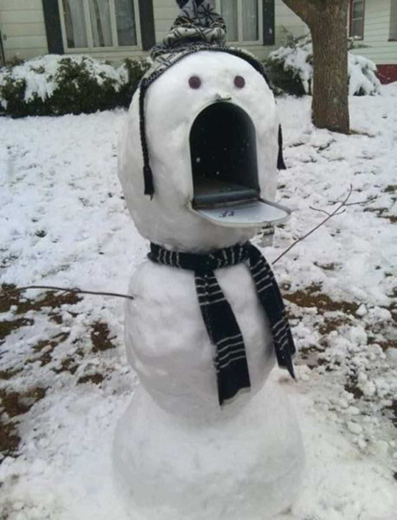 """""""Come at Me, Bro!"""" is listed (or ranked) 1 on the list 47 Snowmen Who Are Funnier Than Yours"""
