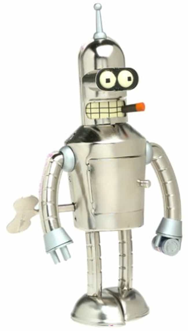 Bender Wind-Up Tin Robot is listed (or ranked) 2 on the list Perfect Gifts for Futurama Fans