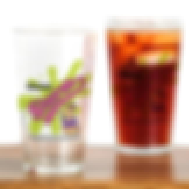 Slurm Pint Glass is listed (or ranked) 4 on the list Perfect Gifts for Futurama Fans
