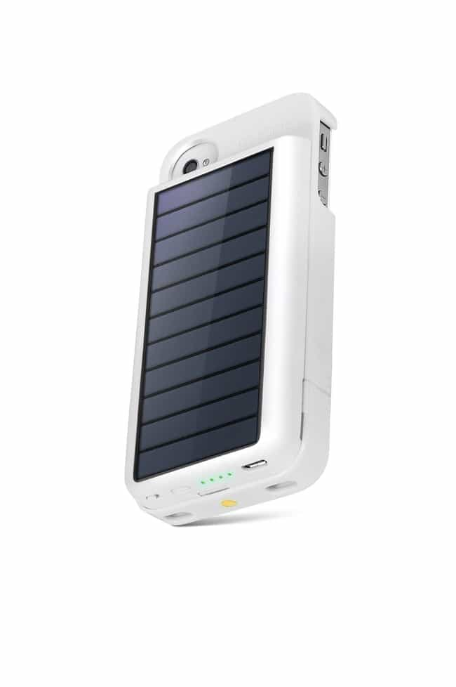 Eton Solar Charging Case... is listed (or ranked) 2 on the list Crazy iPhone Cases That Are Totally Useful