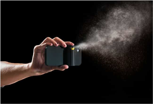 Pepper Spray Case is listed (or ranked) 4 on the list Crazy iPhone Cases That Are Totally Useful