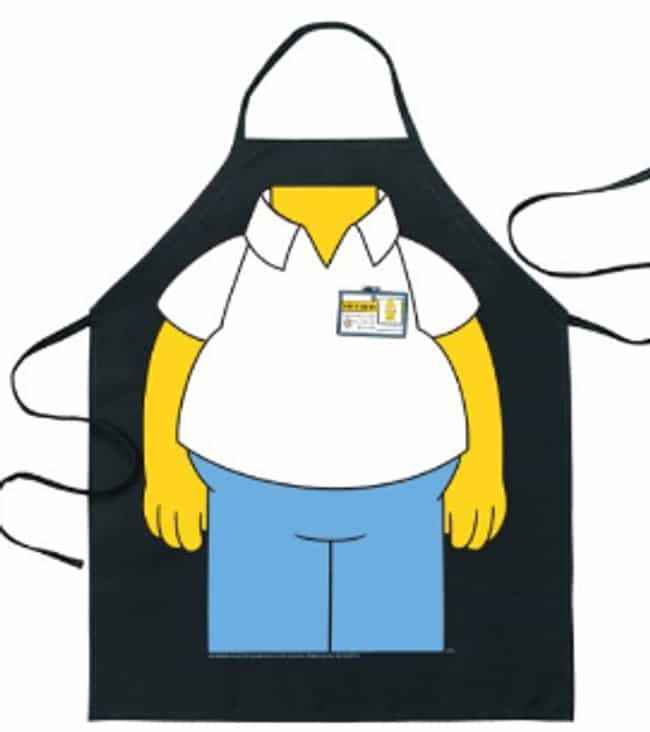 Homer Simpson Body Apron... is listed (or ranked) 2 on the list Perfect Gifts for Fans of The Simpsons