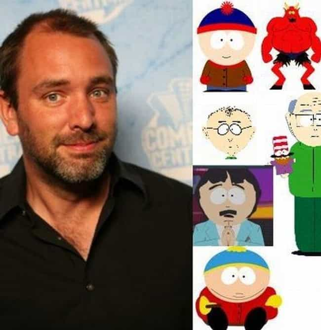 Trey Parker Voices Over 23 Cha... is listed (or ranked) 7 on the list 17 Fun Facts About the Voices of South Park