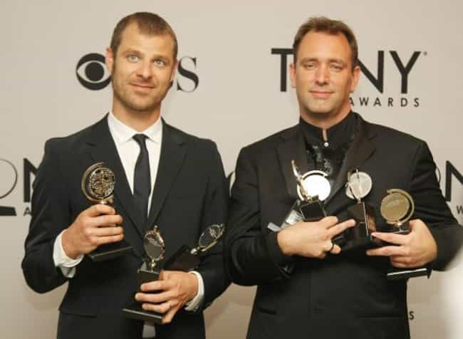 Matt Stone and Trey Parker Hav... is listed (or ranked) 3 on the list 17 Fun Facts About the Voices of South Park