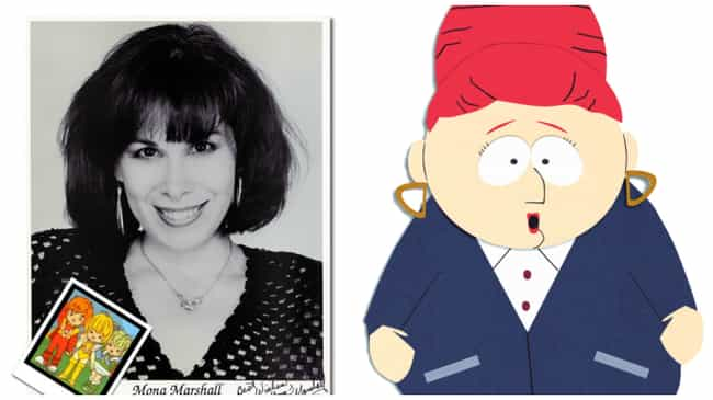 The Voice of Kyle's Mom is Fam... is listed (or ranked) 5 on the list 17 Fun Facts About the Voices of South Park