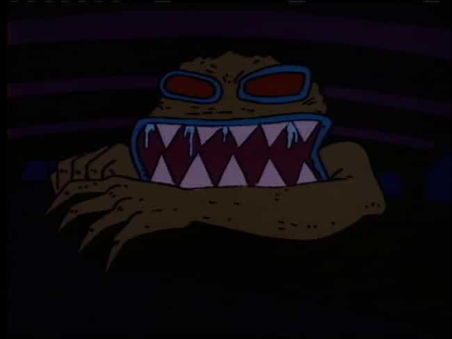 The Monster Under Chucki... is listed (or ranked) 2 on the list The 25 Creepiest Rugrats Moments of All Time