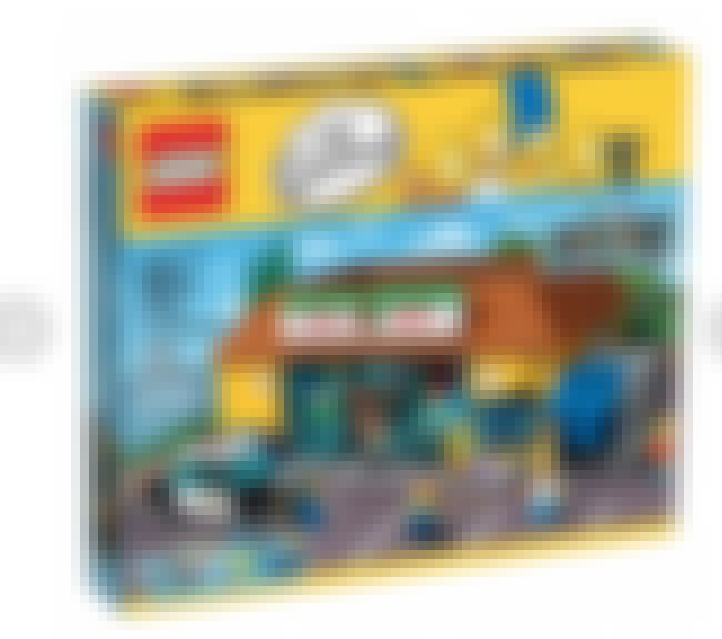 Kwik-E-Mart LEGO Set is listed (or ranked) 1 on the list Perfect Gifts for Fans of The Simpsons
