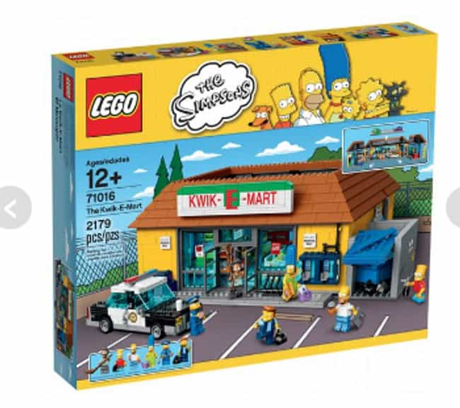 Kwik-E-Mart LEGO Set is listed (or ranked) 3 on the list Perfect Gifts for Fans of The Simpsons