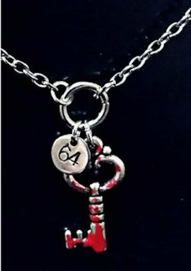 Room 64 Key Necklace is listed (or ranked) 2 on the list Perfect Gifts for American Horror Story Fans