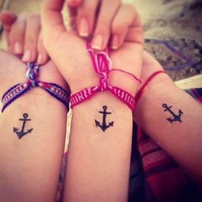 Friendship Tattoo Ideas | Designs for Friendship Tattoos