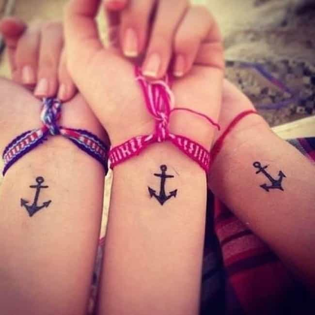 Anchor Friendship Tattoo is listed (or ranked) 2 on the list Friendship Tattoo Ideas