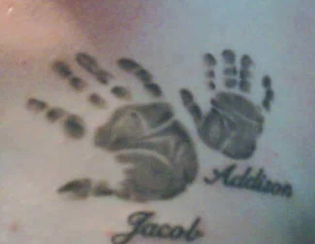 Kids' Handprints Family ... is listed (or ranked) 3 on the list Family Tattoo Ideas