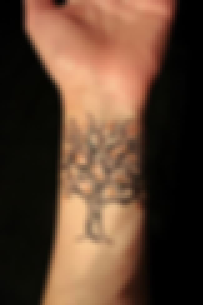 Tree Wrist Tattoo is listed (or ranked) 4 on the list Great Ideas for a Small Wrist Tattoo