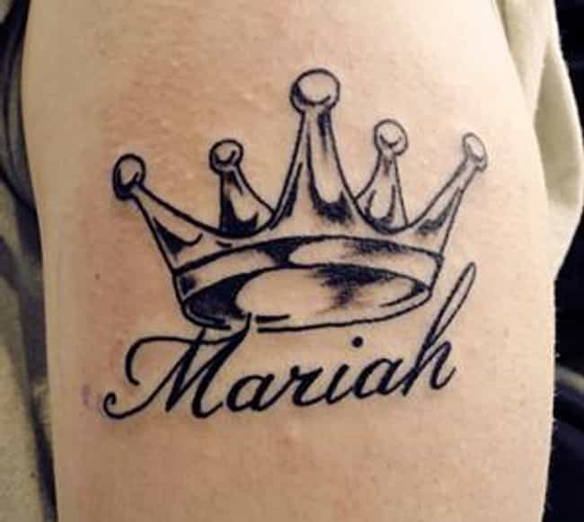 Crown Name Tattoo is listed (or ranked) 3 on the list Name Tattoo Ideas