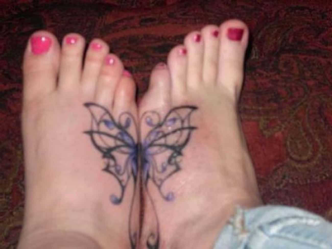 Connecting Butterfly Best Frie is listed (or ranked) 4 on the list Best Friend Tattoo Ideas