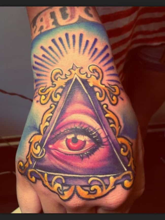 Eye Knuckle Tattoo is listed (or ranked) 3 on the list 20 Dope Designs for Killer Knuckle Tats