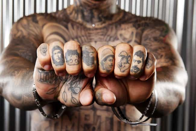 Face Knuckle Tattoos is listed (or ranked) 2 on the list 20 Dope Designs for Killer Knuckle Tats
