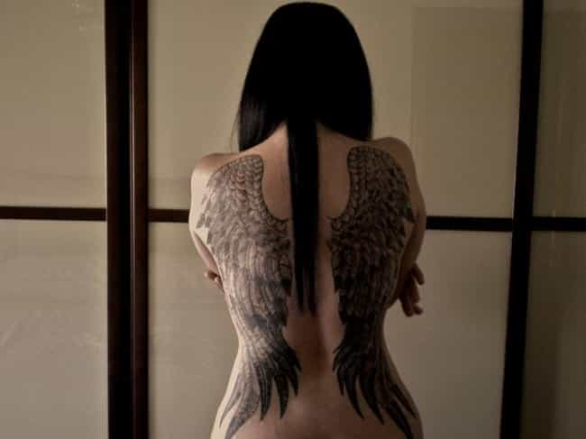 Angel Wings is listed (or ranked) 4 on the list 25 Awesome Graffiti Tattoo Ideas