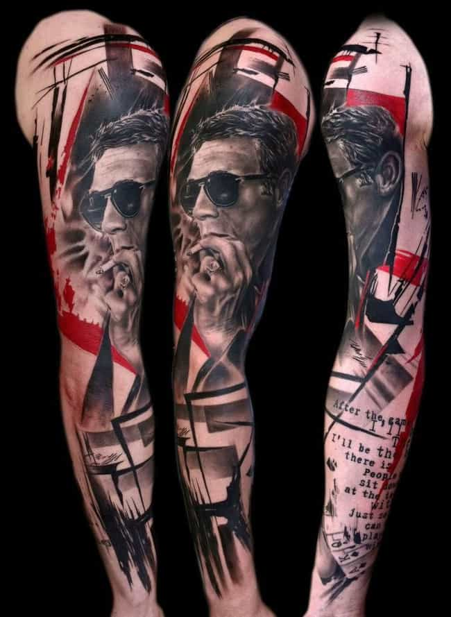 Kick Ass is listed (or ranked) 3 on the list 25 Awesome Graffiti Tattoo Ideas
