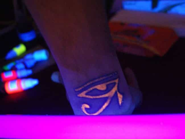 Eye Of Horus Glow In The... is listed (or ranked) 1 on the list Glow in the Dark Tattoo Ideas
